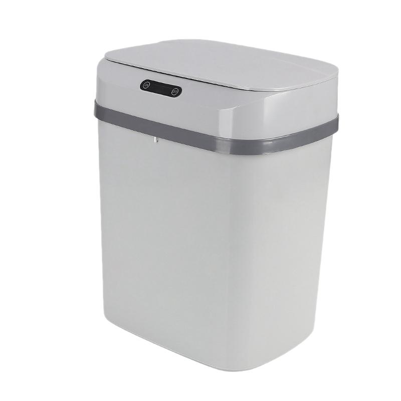 5X(Electronic Smart Trash Can Induction Household Rubbish Bi