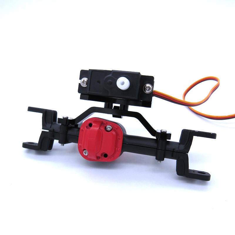miniature 9 - SièGe de Base de Tige de Traction en MéTal et Support de Servo D'Axe Vers l S2C2