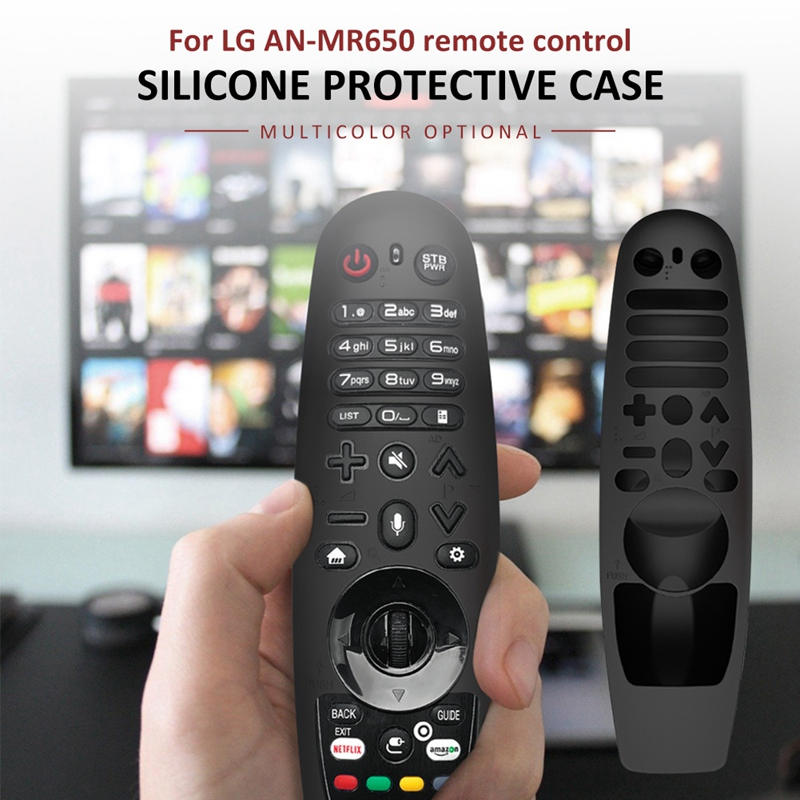 Housse-de-Protection-pour-TeLeCommande-LG-AN-MR650-AN-MR18BA-AN-MR19BA-M1N2 miniature 36