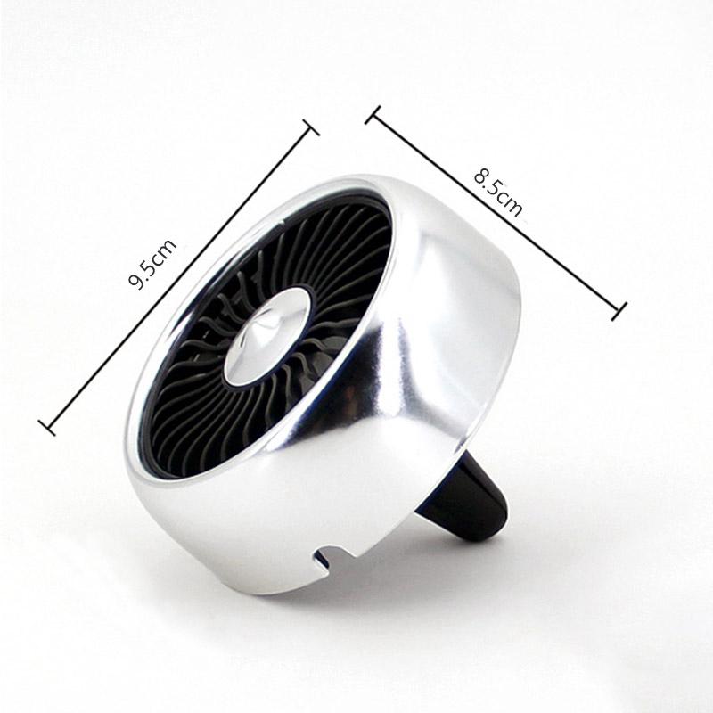 miniature 13 - Ventilateur de Climatiseur de Voiture Vent 3 Modes pour Ajuster, USB Fort e O6O8