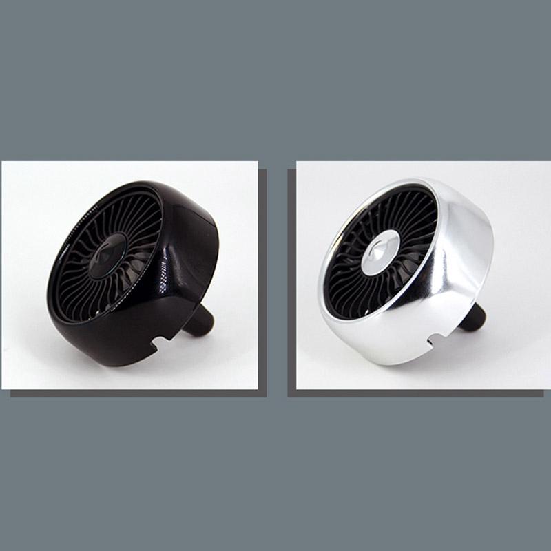 miniature 17 - Ventilateur de Climatiseur de Voiture Vent 3 Modes pour Ajuster, USB Fort e O6O8