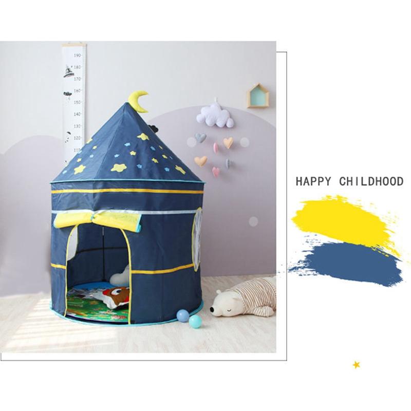Tienda-de-Juegos-para-Ninos-Princess-Castle-Playhouse-con-Bolsa-de-Transpor-O9K8 miniatura 6