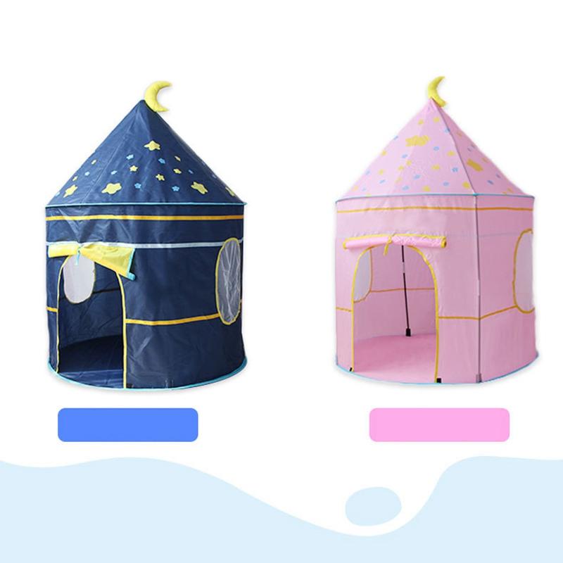 Tienda-de-Juegos-para-Ninos-Princess-Castle-Playhouse-con-Bolsa-de-Transpor-O9K8 miniatura 7