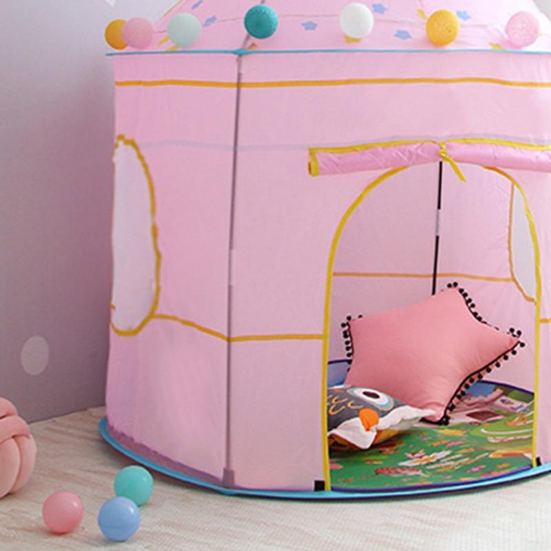 Tienda-de-Juegos-para-Ninos-Princess-Castle-Playhouse-con-Bolsa-de-Transpor-O9K8 miniatura 13