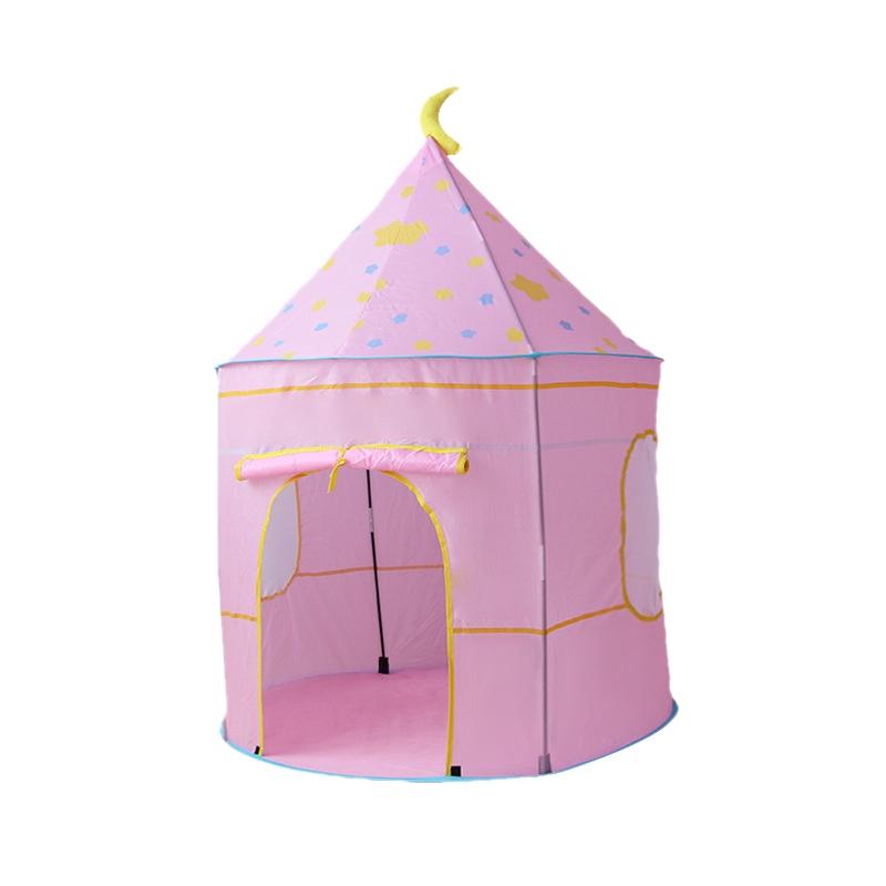 Tienda-de-Juegos-para-Ninos-Princess-Castle-Playhouse-con-Bolsa-de-Transpor-O9K8 miniatura 11