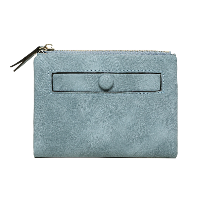 Dames-Portefeuille-Petite-Mode-en-Cuir-Porte-Monnaie-Dames-Porte-Cartes-Sac-P4K5 miniature 13