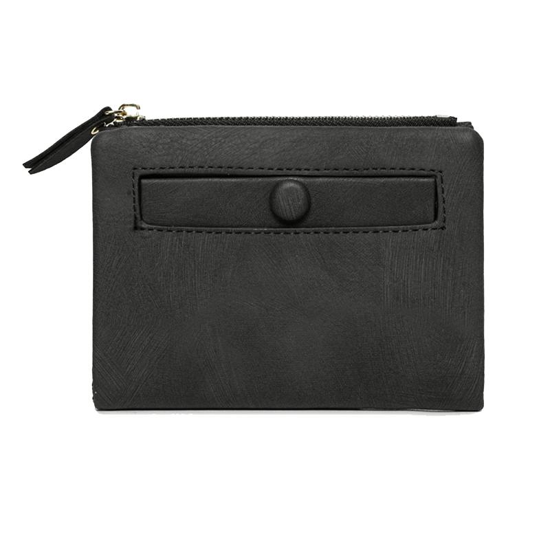 Dames-Portefeuille-Petite-Mode-en-Cuir-Porte-Monnaie-Dames-Porte-Cartes-Sac-P4K5 miniature 20