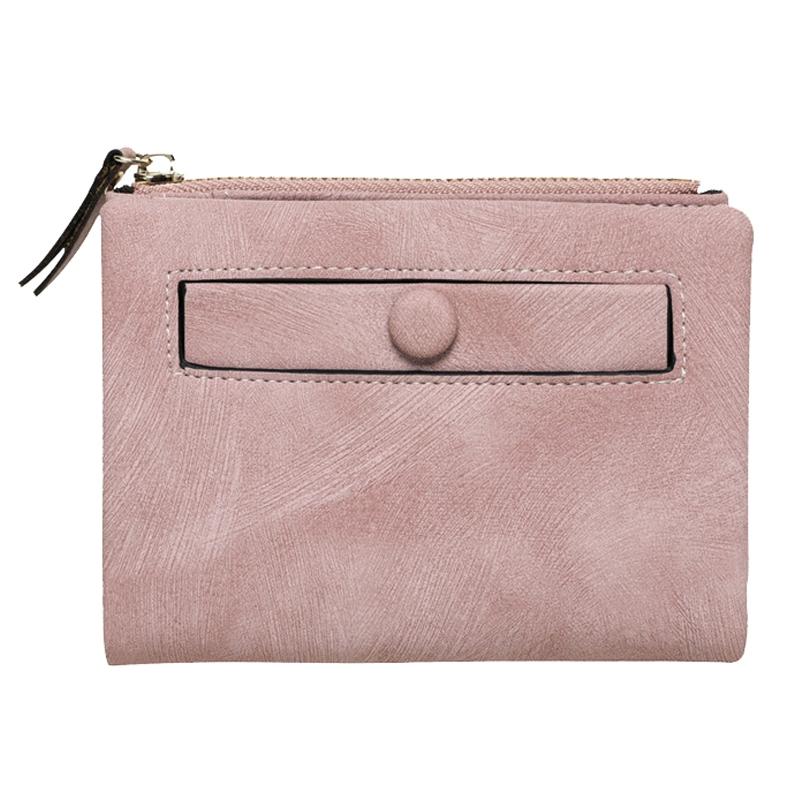 Dames-Portefeuille-Petite-Mode-en-Cuir-Porte-Monnaie-Dames-Porte-Cartes-Sac-P4K5 miniature 29