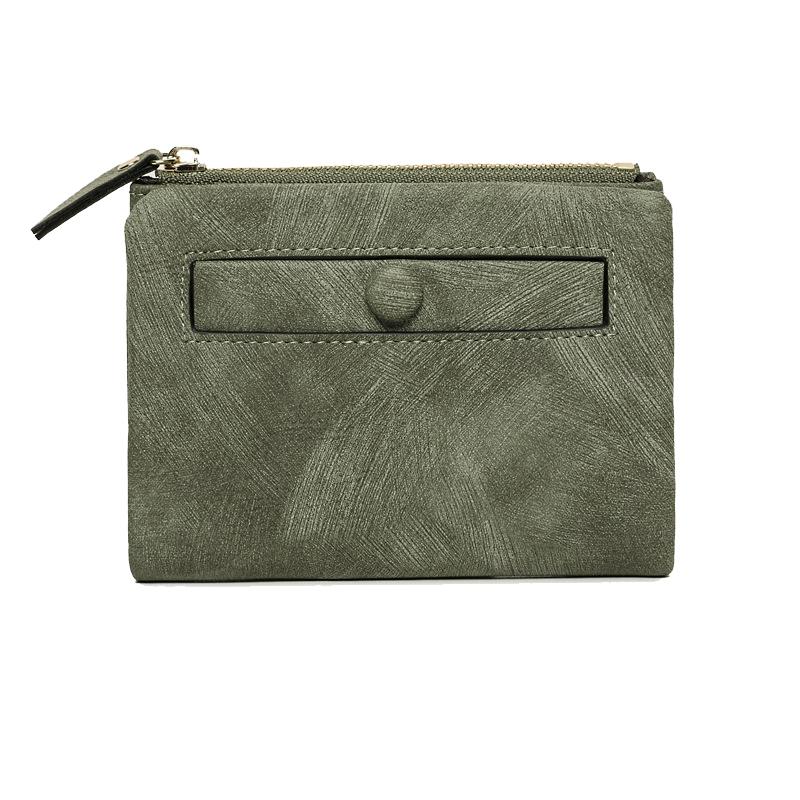 Dames-Portefeuille-Petite-Mode-en-Cuir-Porte-Monnaie-Dames-Porte-Cartes-Sac-P4K5 miniature 41