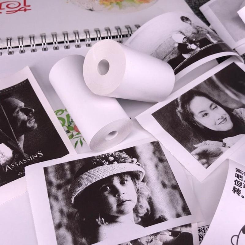 miniature 4 - 10 Rouleaux de Papier Thermique Caisse Enregistreuse POS ReçUs Papiers 57X3 N2Z9