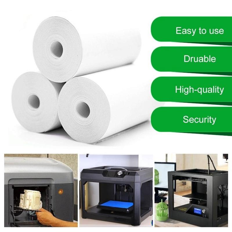 10 Rouleaux de Papier Thermique Caisse Enregistreuse POS ReçUs Papiers 57X3 N2Z9