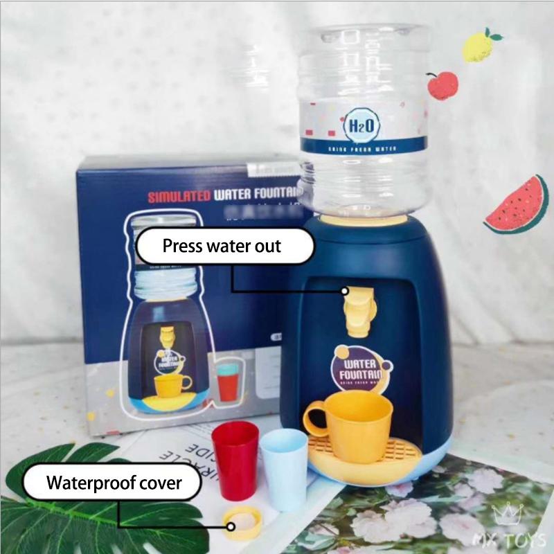 miniatura 4 - Dispenser di Acqua Set di Giocattoli Fingere Elettrodomestici da Cucina Gio G9V7