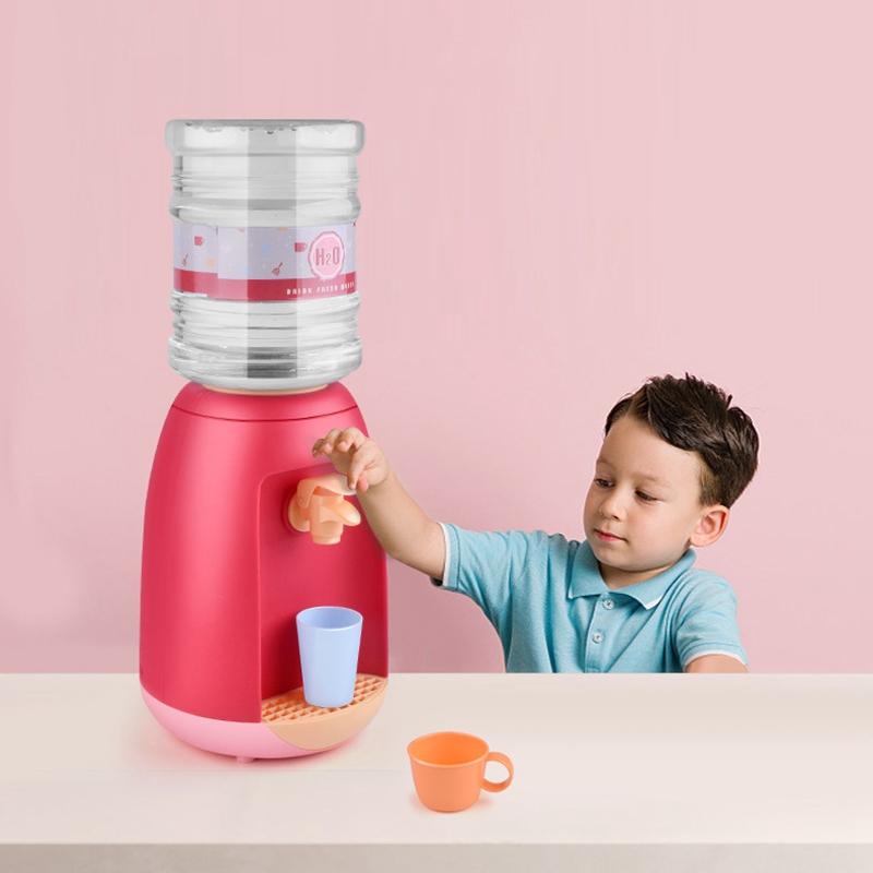 miniatura 5 - Dispenser di Acqua Set di Giocattoli Fingere Elettrodomestici da Cucina Gio G9V7