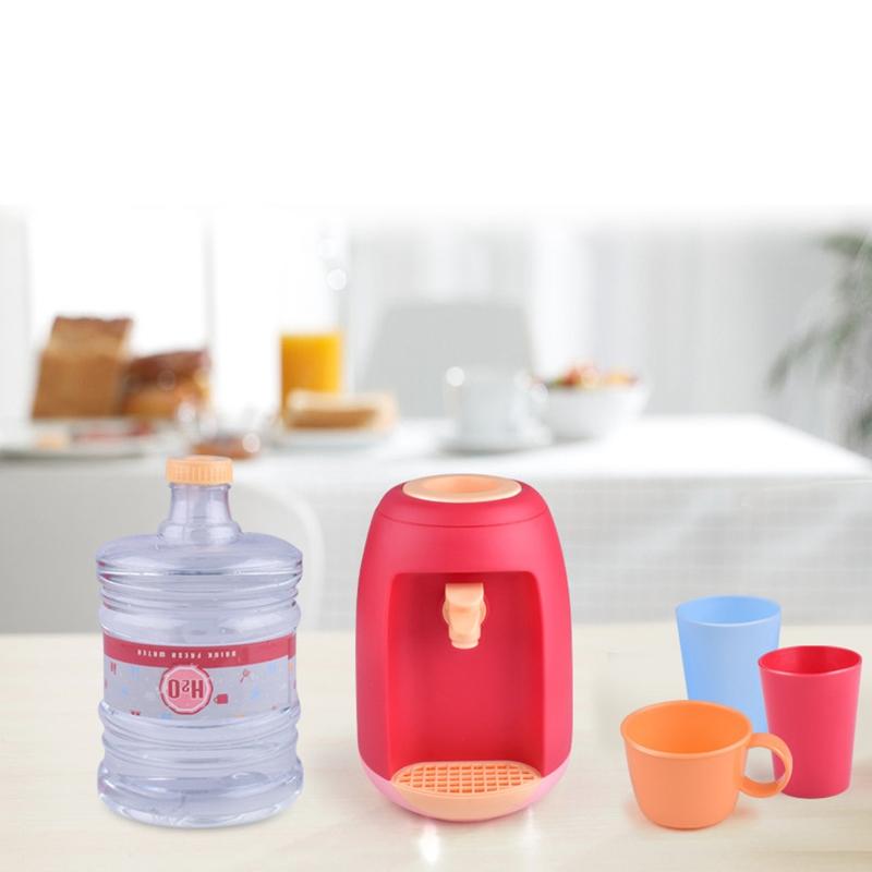 miniatura 8 - Dispenser di Acqua Set di Giocattoli Fingere Elettrodomestici da Cucina Gio G9V7