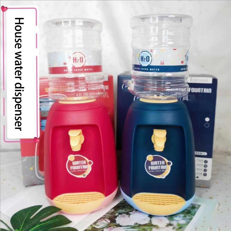 miniatura 14 - Dispenser di Acqua Set di Giocattoli Fingere Elettrodomestici da Cucina Gio G9V7