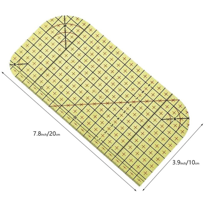 2Pcs-Set-Ironing-Measuring-Ruler-Patchwork-Sewing-Tools-for-Clothing-Making-C9L7 thumbnail 4