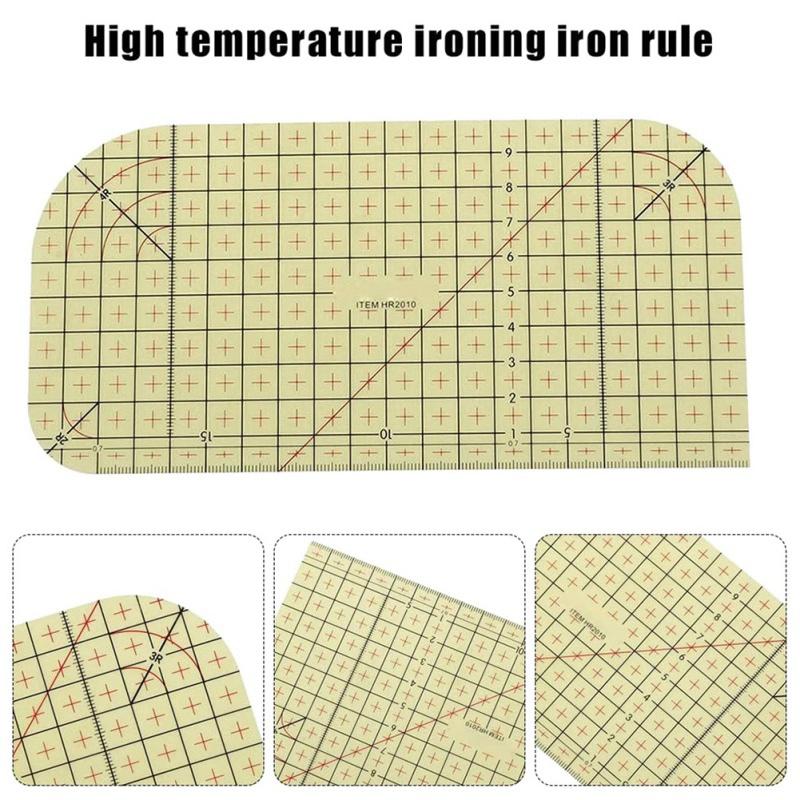 2Pcs-Set-Ironing-Measuring-Ruler-Patchwork-Sewing-Tools-for-Clothing-Making-C9L7 thumbnail 5