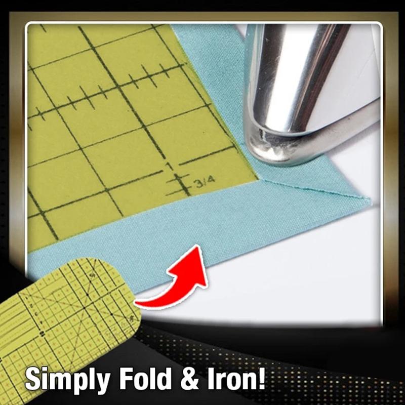 2Pcs-Set-Ironing-Measuring-Ruler-Patchwork-Sewing-Tools-for-Clothing-Making-C9L7 thumbnail 7