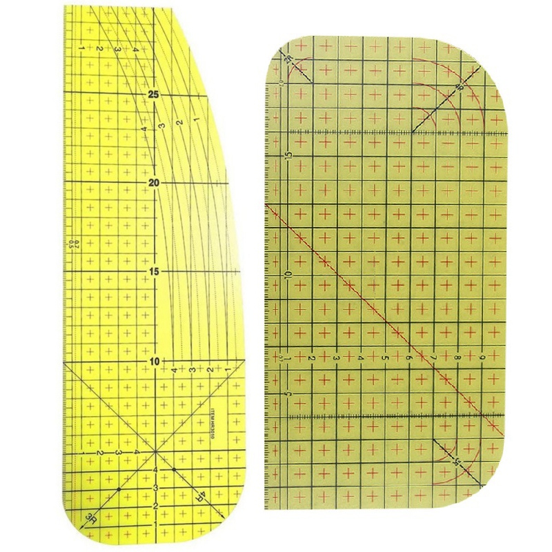 2Pcs-Set-Ironing-Measuring-Ruler-Patchwork-Sewing-Tools-for-Clothing-Making-C9L7