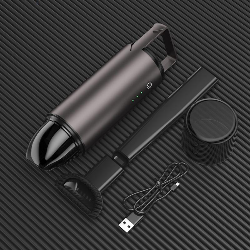 5X(Portable Car Vacuum Cleaner 75W Wireless Handheld Alloy Auto Vacuum Clea R9Q6