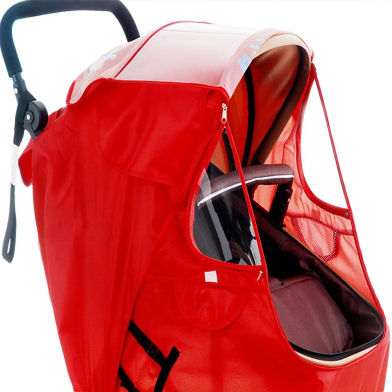 miniatura 6 - Fodera per Passeggino Caldo per Bambini Protezione Antivento Universale Ant D1E3