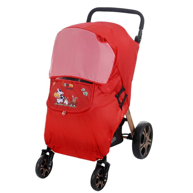 miniatura 2 - Fodera per Passeggino Caldo per Bambini Protezione Antivento Universale Ant D1E3