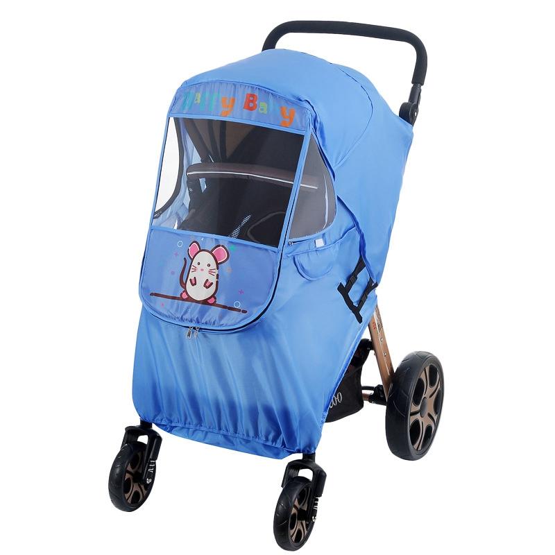 miniatura 11 - Fodera per Passeggino Caldo per Bambini Protezione Antivento Universale Ant D1E3