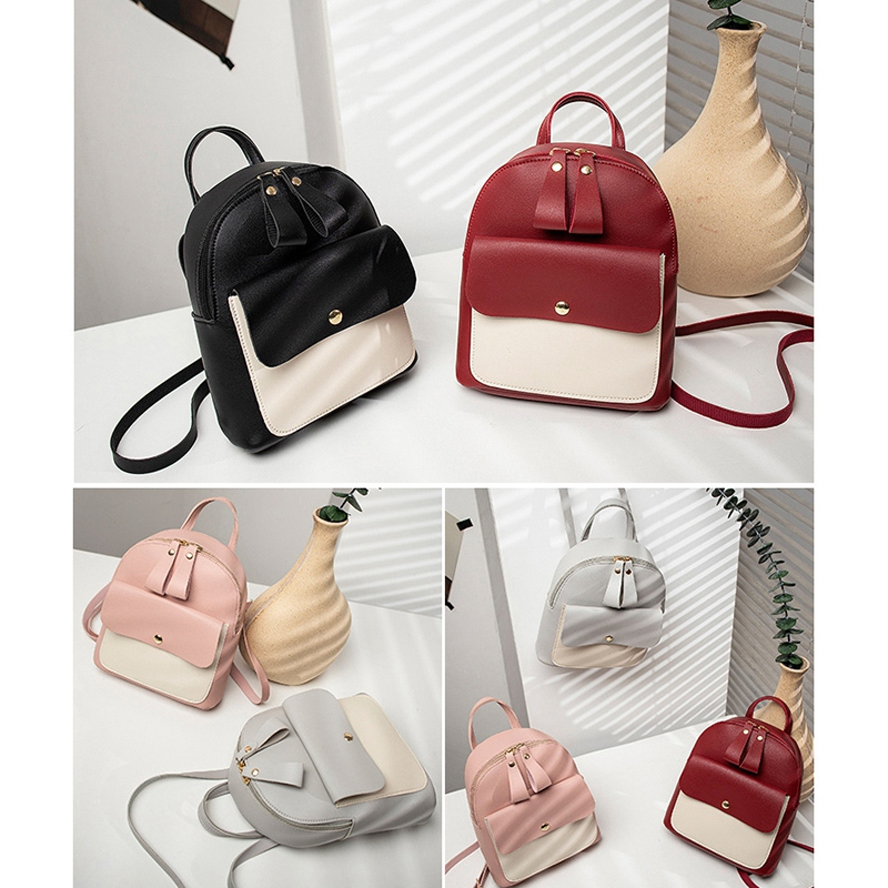 Fashion-Women-039-S-Backpack-Mini-Multifunctional-Small-Backpack-Women-039-S-ShouldZ9M1 thumbnail 5