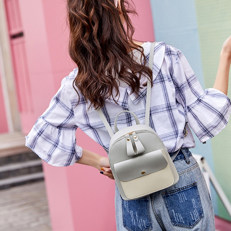 Fashion-Women-039-S-Backpack-Mini-Multifunctional-Small-Backpack-Women-039-S-ShouldZ9M1 thumbnail 8