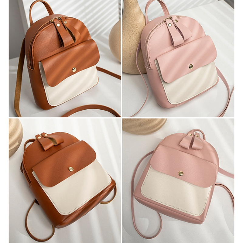 Fashion-Women-039-S-Backpack-Mini-Multifunctional-Small-Backpack-Women-039-S-ShouldZ9M1 thumbnail 24