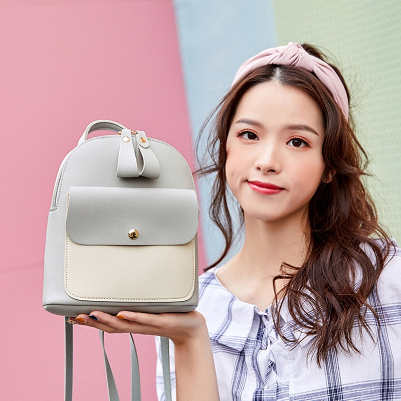 Fashion-Women-039-S-Backpack-Mini-Multifunctional-Small-Backpack-Women-039-S-ShouldZ9M1 thumbnail 25