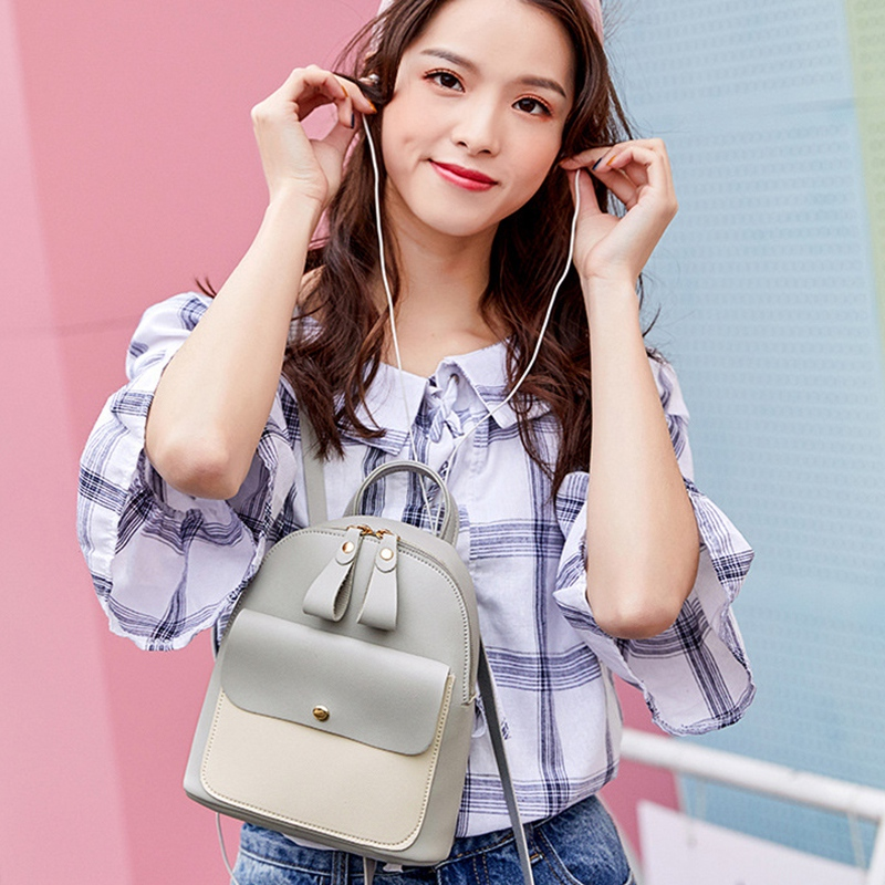 Fashion-Women-039-S-Backpack-Mini-Multifunctional-Small-Backpack-Women-039-S-ShouldZ9M1 thumbnail 39