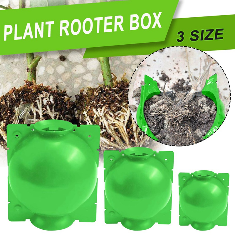 miniatura 6 - Caja de Cultivo de RaíCes de Plantas de 5 Uds., Caja de Cultivo de Bolas de I4N8