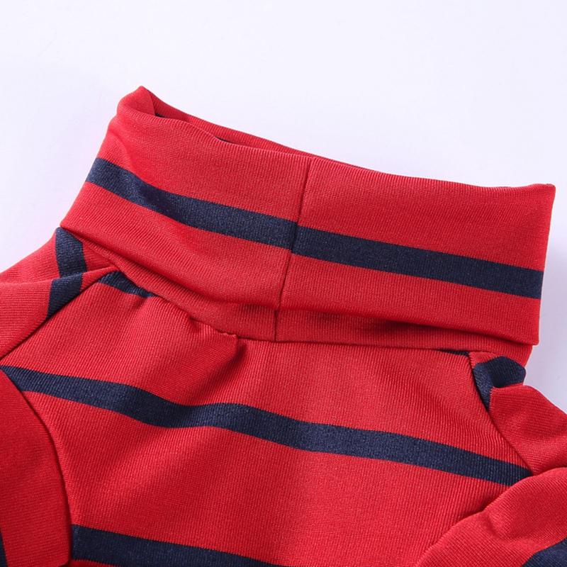 Indexbild 10 - Gestreifte Baumwolle Haustier Hund Kleidung Winter Warme Hund Overalls Stra Q9L2