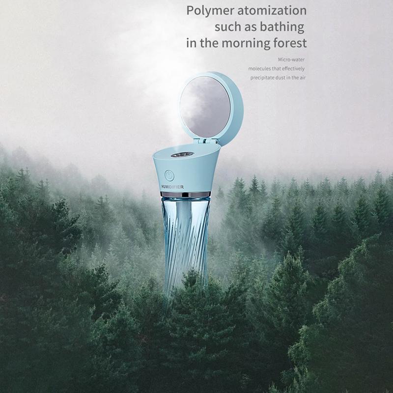 Indexbild 6 - Luftbefeuchter, Kabelloses Laden, Luftbefeuchter mit AtmosphäRenlampe Geeig Z7I5