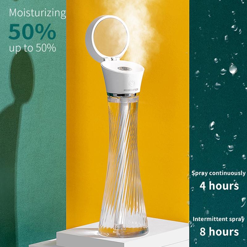 Indexbild 13 - Luftbefeuchter, Kabelloses Laden, Luftbefeuchter mit AtmosphäRenlampe Geeig Z7I5