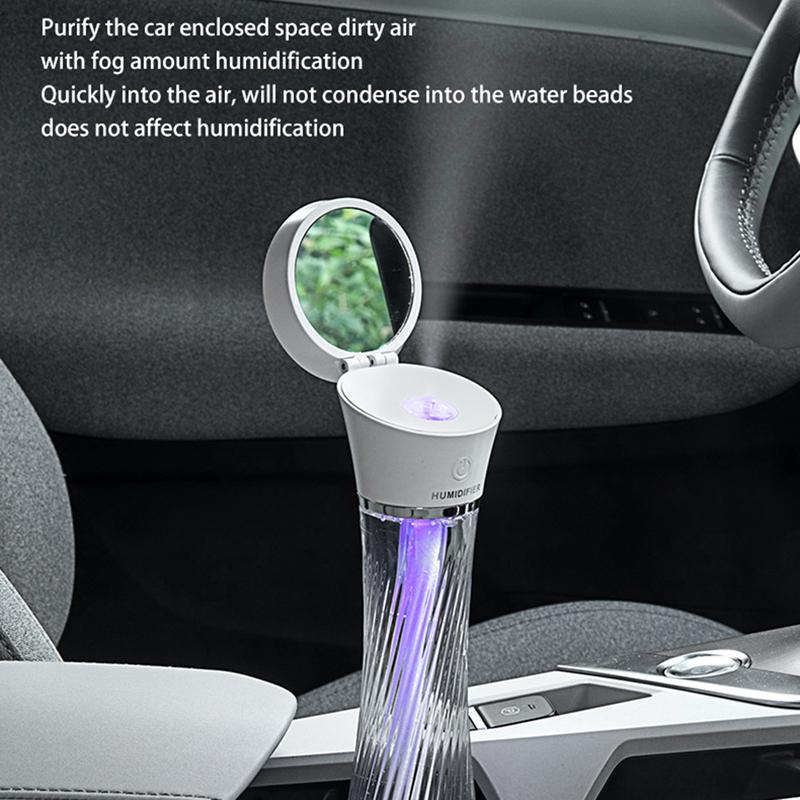Indexbild 20 - Luftbefeuchter, Kabelloses Laden, Luftbefeuchter mit AtmosphäRenlampe Geeig Z7I5