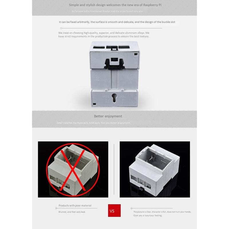 thumbnail 9 - Electrical-Box-for-Raspberry-Pi-4-Rubber-3B-3-Generation-B-Type-4-W2Y5
