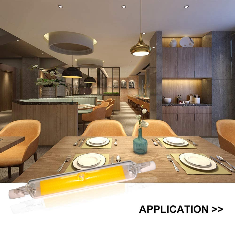 thumbnail 4 - R7S-LED-Bulb-Replace-Halogen-Light-Lamp-Bead-COB-118MM-13W-220V-Dimmable-Fl-Y7H6