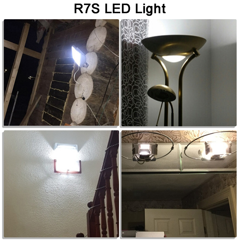 thumbnail 5 - R7S-LED-Bulb-Replace-Halogen-Light-Lamp-Bead-COB-118MM-13W-220V-Dimmable-Fl-Y7H6