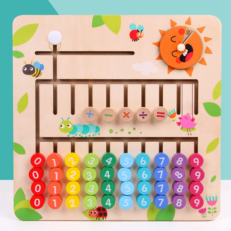 thumbnail 7 - Wooden-Toys-Digital-Computing-Toys-Kids-Education-Toys-Mathematic-Skills-an-H8M1