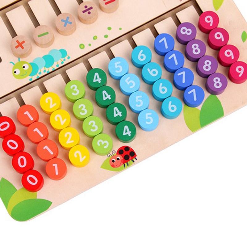 thumbnail 11 - Wooden-Toys-Digital-Computing-Toys-Kids-Education-Toys-Mathematic-Skills-an-H8M1