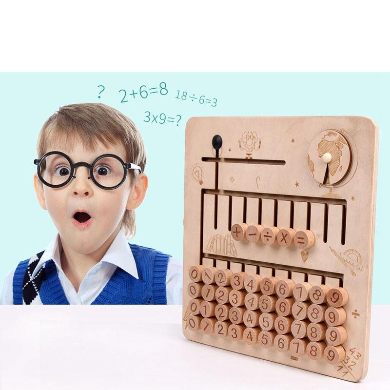 thumbnail 15 - Wooden-Toys-Digital-Computing-Toys-Kids-Education-Toys-Mathematic-Skills-an-H8M1