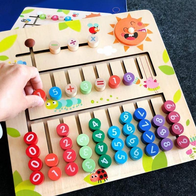 thumbnail 16 - Wooden-Toys-Digital-Computing-Toys-Kids-Education-Toys-Mathematic-Skills-an-H8M1