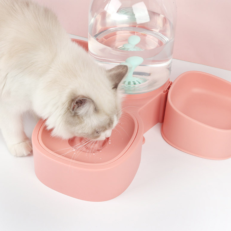 thumbnail 16 - Dog-Cat-Bowl-Fountain-Automatic-Water-Food-Feeder-for-Pet-Supplies-R9K1