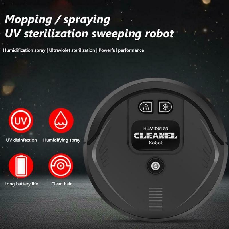 miniatura 15 - DesinfeccióN UV Robot de Barrido Inteligente Aspiradora de Piso Barredora d F6I2