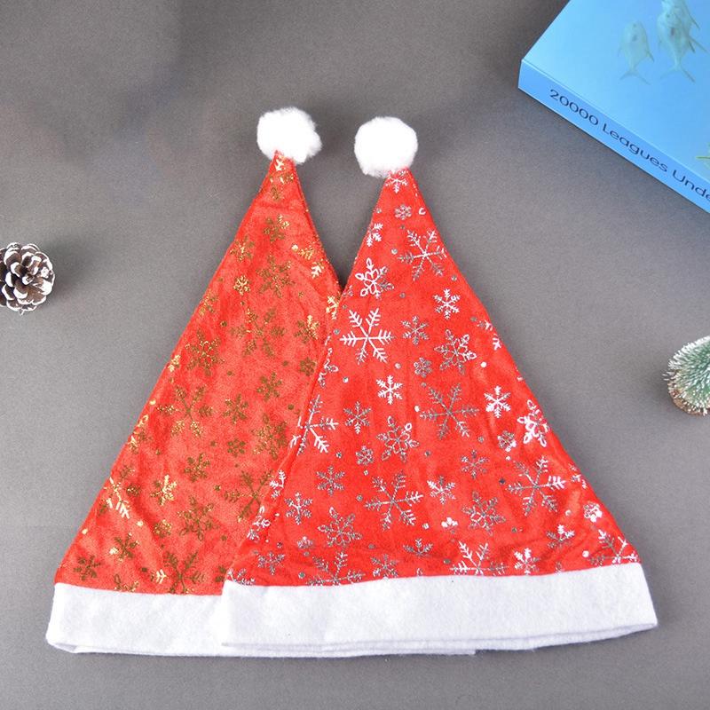 miniatura 5 - el-Sombrero-de-Terciopelo-Dorado-de-Navidad-Se-Utiliza-para-Fiestas-de-V3U8