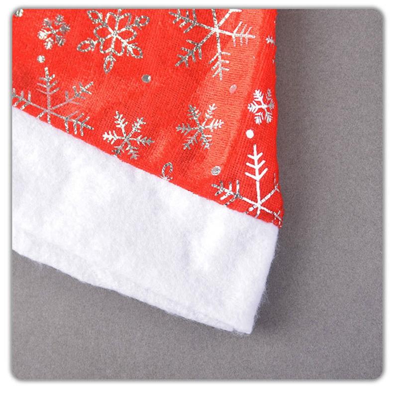 miniatura 8 - el-Sombrero-de-Terciopelo-Dorado-de-Navidad-Se-Utiliza-para-Fiestas-de-V3U8