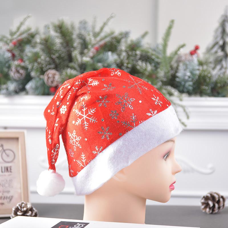 miniatura 10 - el-Sombrero-de-Terciopelo-Dorado-de-Navidad-Se-Utiliza-para-Fiestas-de-V3U8