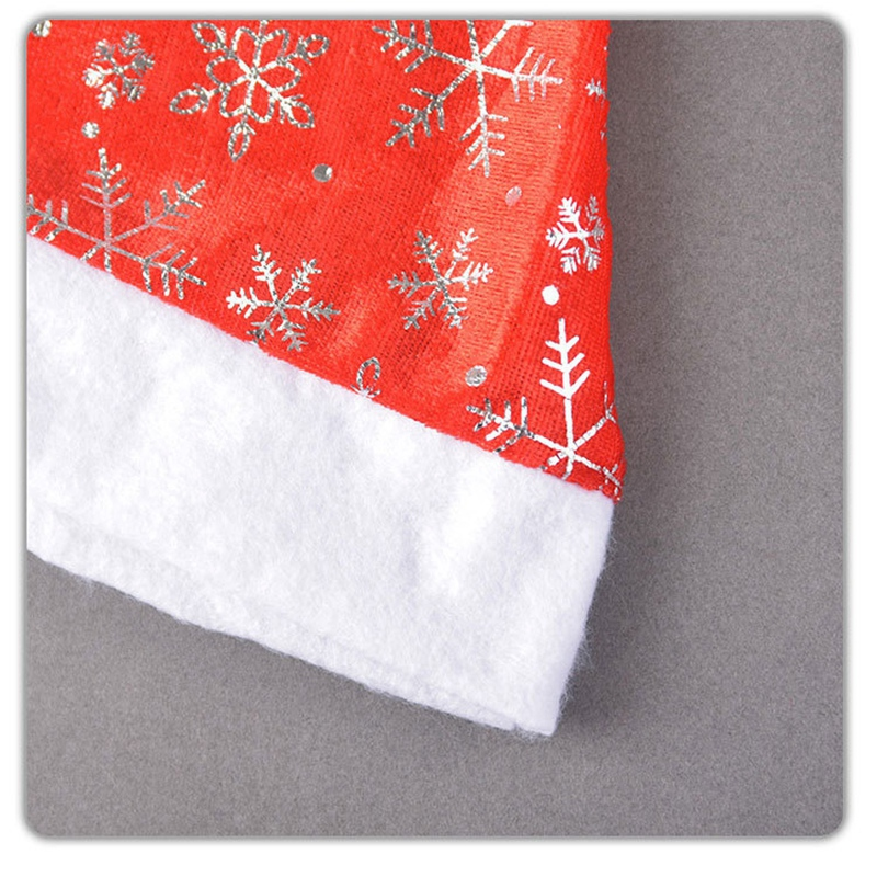 miniatura 15 - el-Sombrero-de-Terciopelo-Dorado-de-Navidad-Se-Utiliza-para-Fiestas-de-V3U8